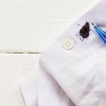 Как отстирать гелевую ручку с одежды