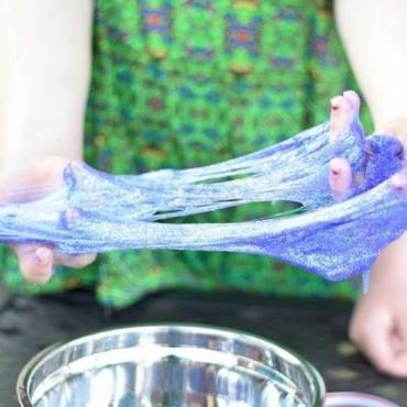 Как убрать слайм с одежды