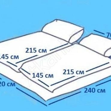 Размеры постельного белья двухспального