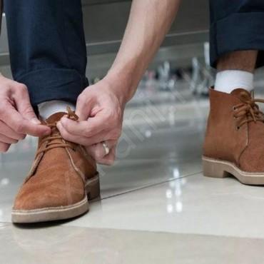 Как стирать обувь из нубука