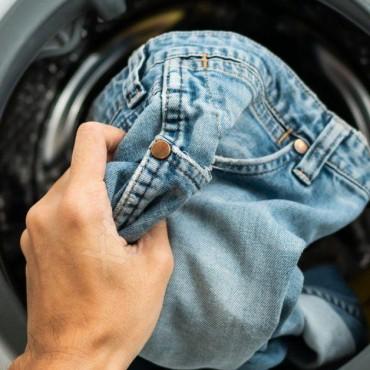 Стирать джинсы в машине автомат