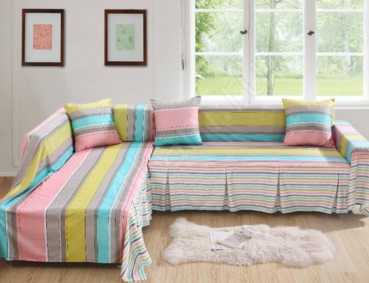 ткани для покрывала на диван