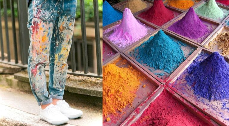 Покрасить шелковую ткань в домашних условиях